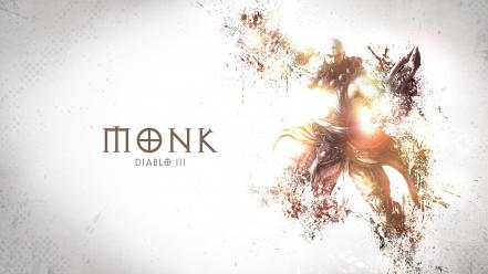 Video games diablo iii monk wallpaper
