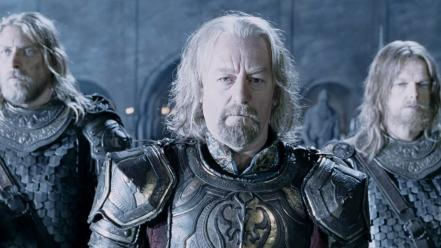Actors bernard hill theoden scene two towers wallpaper