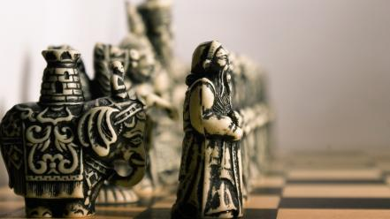 Chess game far east wallpaper