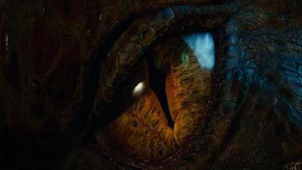 Eyes dragons the hobbit smaug wallpaper