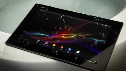 Sony technology tablet xperia z wallpaper