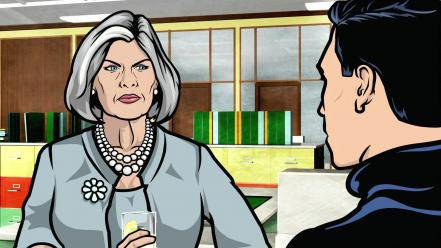 Sterling archer (tv) malory wallpaper