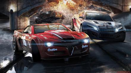 Video games cars split second wallpaper