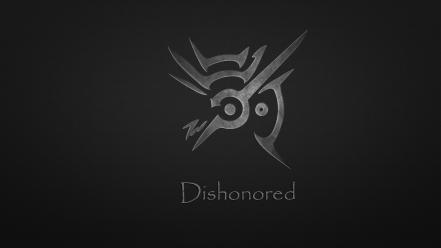 Video games logos dishonored wallpaper