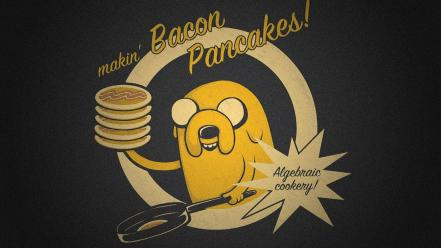 With finn and jake pancakes the dog wallpaper