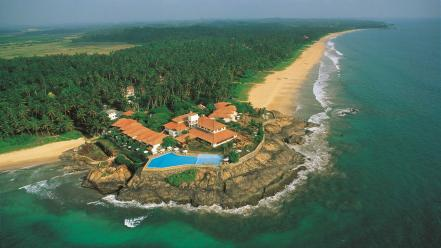 Africa sri lanka z aerial view beaches Wallpaper