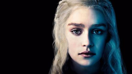 Blondes game of thrones emilia clarke daenerys targaryen wallpaper