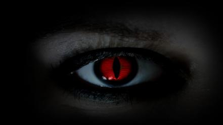 Eyes red devil wallpaper