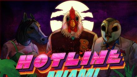 Game hotline miami wallpaper