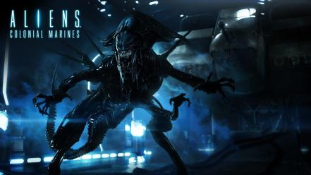Games hands creatures aliens game colonial marines wallpaper