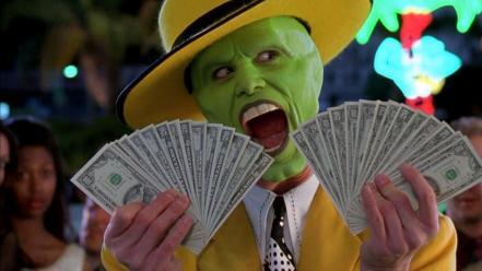 Movies money screenshots the mask jim carrey wallpaper