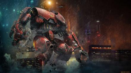 Movies robots giant robo pacific rim wallpaper