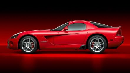 Red cars viper dodge wallpaper