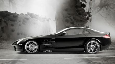 Sports car mercedes benz slr mclaren normal wallpaper