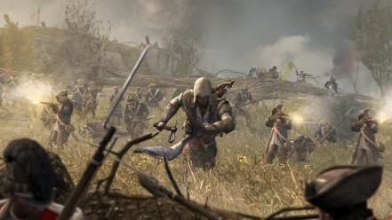 Video games assassins creed 3 connor wallpaper