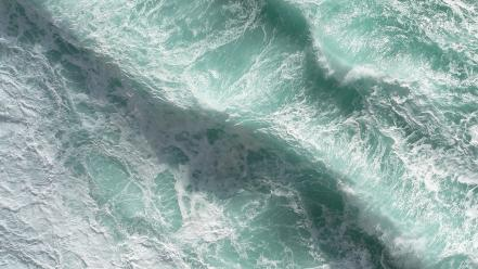 Water ocean waves sea wallpaper
