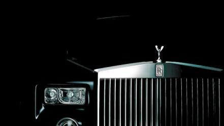 Black cars vehicles rolls royce phantom background elegance wallpaper