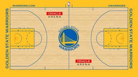 Golden state warriors nba basketball player court wallpaper