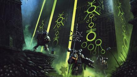 Necrons tombs warhammer 40k Wallpaper