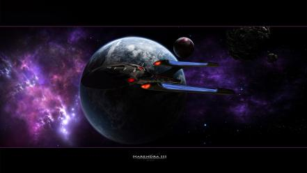 Planetside astronomy outer space planets science fiction wallpaper