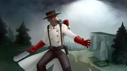 Steam team fortress 2 community mann vs machine wallpaper