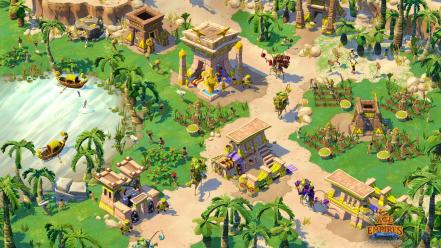 Video games age of empires online game Wallpaper