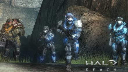 Video games team halo armor reach game Wallpaper