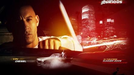 Vin diesel the fast and furious Wallpaper