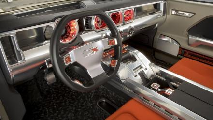 Cars dashboards hummer hx concept wallpaper