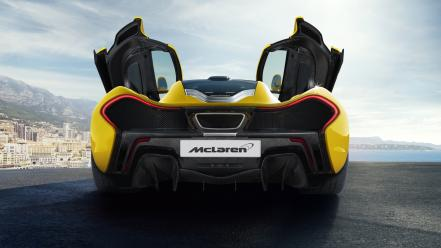Cars monaco static mclaren p1 wallpaper