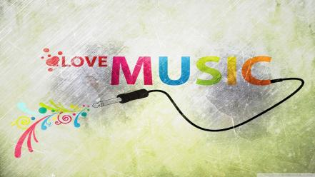 Love music wallpaper