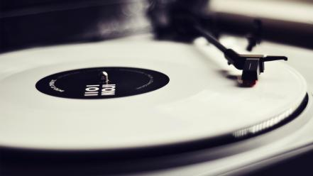Music vinyl turntables disk phonograph wallpaper