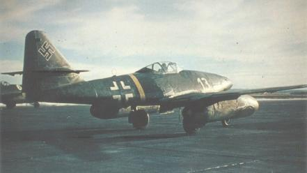 Nazi messerschmitt luftwaffe me-262 wallpaper
