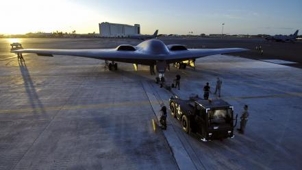 Northrop b-2a us air force united states Wallpaper