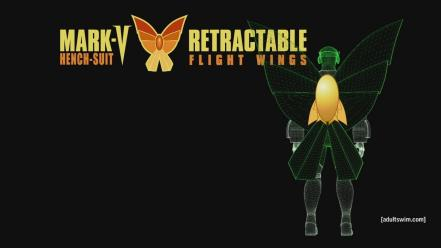 The venture bros. henchmen butterfly wings wallpaper