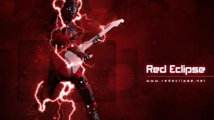 Video games pc red eclipse wallpaper