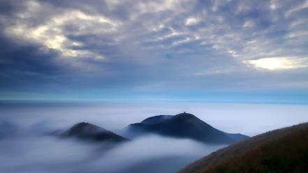 Clouds landscapes nature taiwan taipei national park wallpaper