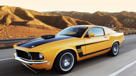 Ford muscle cars 1969 mustang car fastback wallpaper