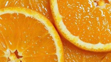 Fruits oranges macro wallpaper
