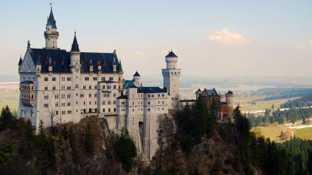 Landscapes nature castles forests germany architecture hills historic wallpaper