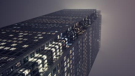 Lights buildings cities wallpaper