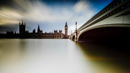 Of parliament river thames westminster bridge cities wallpaper