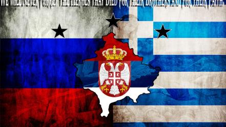 Russia eagles greece serbia brother wallpaper