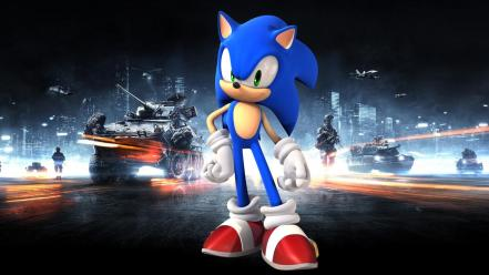 Sonic the hedgehog battlefield 3 crossovers wallpaper