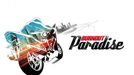 Video games burnout paradise motorbikes motorcycles wallpaper