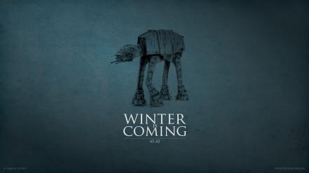 Winter is coming battlefront 3 at clones wallpaper