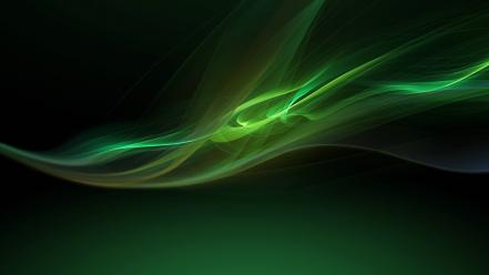 Xperia z green wallpaper