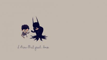 Batman minimalistic text humor harry potter crossovers wallpaper