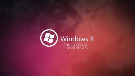 Clouds microsoft operating systems windows 8 wallpaper