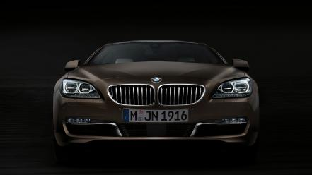Dark front bmw 6 series gran coupe wallpaper